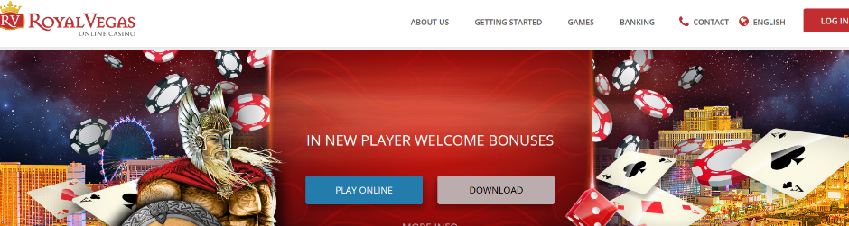 royal vegas interface and top 15 casinos for high rollers