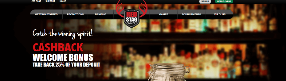 red stag interface and top 15 casinos for high rollers