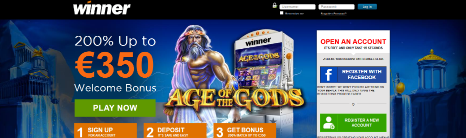 winner interface and top 15 casinos for high rollers